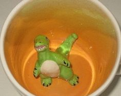 He's confused? How'd he get in my coffee?  | Spademan Pottery on Etsy