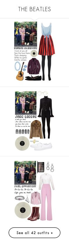 """""""THE BEATLES"""" by nialuisa ❤ liked on Polyvore featuring Honor, Lands' End, Tabitha Simmons, Lonna & Lilly, Bling Jewelry, vintage, Alexander McQueen, AG Adriano Goldschmied, Oasis and Vans"""