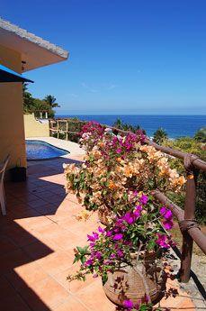 Casa De Suenos - San Pancho, Mexico - 2 bedroom with ocean views only $160 USD per night - For information and reservations click here: http://www.sanpanchorentals.com/2bedroom/casa_de_suenos.html