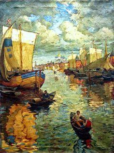 Konstantin Gorbatov | Post-impressionist painter | Tutt'Art@ | Pittura * Scultura * Poesia * Musica |