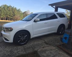 Love my car, especially when it's all clean & shiny! #2014dodgedurango