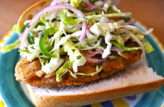 America's Top 10 New Sandwiches Veganized featuring today's sandwich the Fried Chicken Sandwich