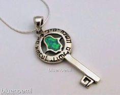 Key to the soul hamsa necklace Jerusalem