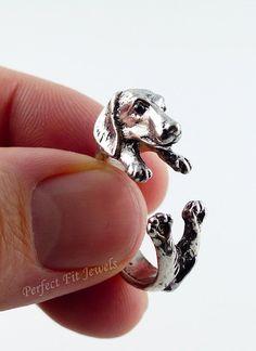 Awww! I need one of these! #WienerDog #Ring #Doxie #DoxieMom