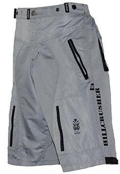 Astek Men's Gray Black MTB BMX Baggy Padded Mountain Bike Shorts (XL): Astek Baggy fit Multi Purpose Bike Shorts look and feel good on the the bike and as well at the restaurant. Bmx Bike Shop, Bmx Bicycle, Bmx Bikes, Cycling Wear, Cycling Outfit, Bmx Gear, Neon Shorts, Motorcycle Pants, Moda Masculina