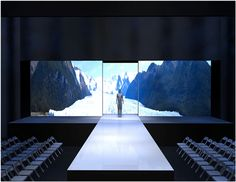 Designed Fashion Show set & runway for Project Ethos Los Angeles