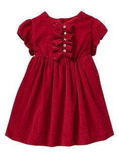Christmas party dress   Gap  For Leila.  First Birthday and Christmas.  Double duty.