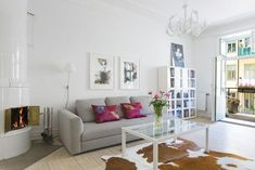 Open-Plan Apartment With A Very Fresh And Cheerful Interior