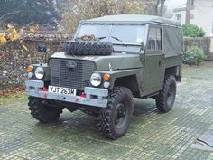 "Land Rover Lightweight 1973 ""Tax Exempt"" For Sale"