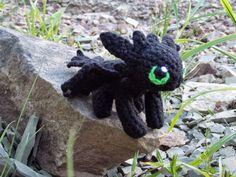 Toothless Pattern, Crochet Toothless, Baby Toothless, Crochet Dragon Pattern, Plushie Patterns, Crochet Amigurumi Free Patterns, Learn To Crochet, Crochet For Kids, Crochet Baby