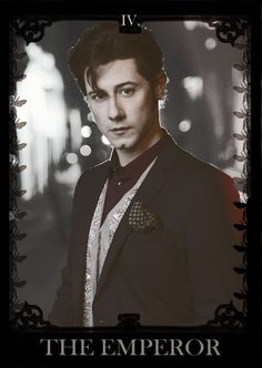 Eliot: The Magicians on SYFY (Hale Appleman) based on the book by Lev Grossman (as tarot deck)
