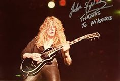 sign_getter_42's Instagram Photo - John Sykes (THIN LIZZY) In person autographed 8x10 picture. Photo by Hikaru Doki on press. #ジョンサイクス #シンリジー #ヘビーメタル #ミュージシャンサイン #サイン写真 #johnsykes #thinlizzy #bluemurder #inpersonautograph #whitesnake #musicianautograph #autographedpicture #stagephotography #rockautograph #rocklegend #superguitarist #hikarudokistagephotography #heavymetalband #thunderandlightning #coldsweat #アーティストサイン #legendguitarist #guitarhero