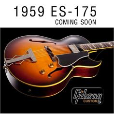 WE CAN HARDLY WAIT...#Gibson #guitar #custom #es175