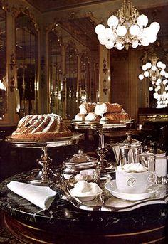 Autriche Café Demel Gastronomie, recettes de cuisine et traditions en Europe. Information et Tourisme Européen.