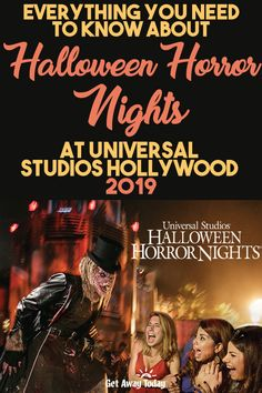 Everything You Need to Know about Halloween Horror Nights at Universal Studios Hollywood 2019 Universal Halloween Horror Nights, Universal Studios Halloween, Universal Hollywood, Universal Orlando, Halloween Horror Nights Tickets, Halloween Horror Nights Hollywood, Universal Horror Nights, Get Away Today, Disney Vacations