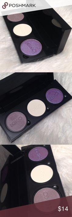 3x Kiko Milano Eyeshadows Snap Palette Hardly used. Make me an offer! kiko milano Makeup Eyeshadow
