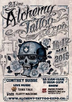 Find the world best tattoo conventions on World Tattoo Events. The biggest international tattoo convention, expo and festivals calendar online. Tattoo 2015, Tattoo Expo, Tattoo Ink, Convention Tatouage, Alchemy Tattoo, Tattoo Posters, Worlds Best Tattoos, Online Calendar, World Tattoo