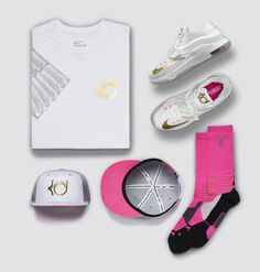 """quality design 5d790 3ee40 Nike KD 7 """"Aunt Pearl†(Angel) Official Images   Release Info"""