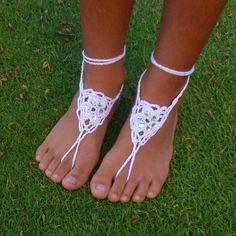Barefoot Childs Crochet Sandals Pattern | Craftsy