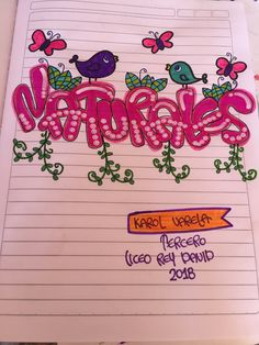 School Notebooks, My Notebook, Diy And Crafts, Mandala, Bullet Journal, Lettering, Ideas, Notebook Ideas, Spiral Notebooks