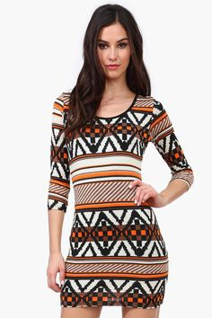 Rory Tribal Sweater Dress...weirdly reminds me of 90s Fran dress her....which is why I love it!