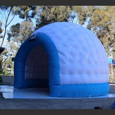 Make a great impression on your next trade show event with our custom outdoor advertising inflatable dome tent. Our inflatable camping tent makes a perfect blow up advertising tent. Dome Tent, Tent Camping, Bag Storage, Shells, Printed, Conch Shells, Outdoor Camping, Clams, Seashells