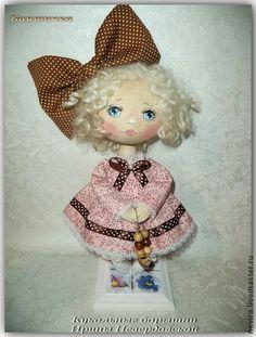 Коллекционные куклы ручной работы. Ярмарка Мастеров - ручная работа Кукла Бантичка. Handmade.