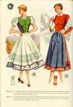 Lutterloh Dirndl Supplement 1950's pg. 10
