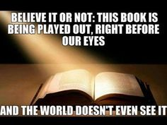 The Bible is being fulfilled quickly. If you're a believe, you see this happening everyday. Come Quickly Lord Jesus. Bible Verses Quotes, Bible Scriptures, Faith Quotes, Bible Teachings, Bible Prayers, Lds Quotes, And So It Begins, Thing 1, Bible Truth
