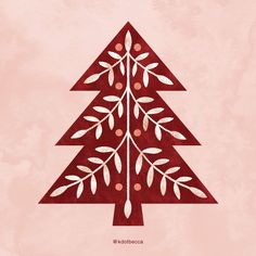 The theme for Day 16 of #24dayscreativeink is Scandinavian, and this Scandinavian folk art-inspired tree is an illustrated version of a cut file that I have in my shop. With a good amount of texture added, of course!....#artlicensing #holidayart #christmasart #folkart #scandinavian #kdotbecca #photoshopart #christmascountdown #stationerydesign #printandpattern #spdcommunity #acolorstory #illustrationlife #illustratorsofinstagram #surfacedesign #surfacedesigner #freelancedesign  #Regram via…