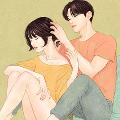 Korean Illustrator Captures Love And Intimacy