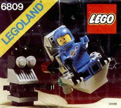 Lego Space / Classic Space: 6809 XT-5 And Droid (1988)