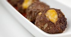 Bacon Cheeseburger Balls - low carb