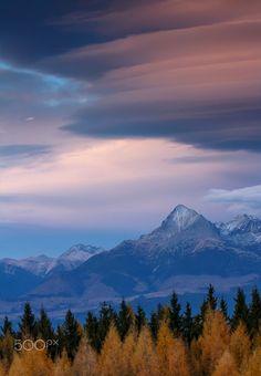 by Matej Rumanský on Polish Mountains, High Tatras, Little Rock, Bratislava, Czech Republic, Prague, National Parks, Earth, Clouds