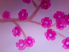 Cherry Blossom art project for kids