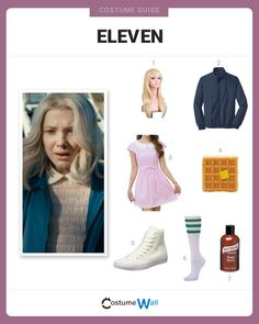 """Dress up like Jane """"Eleven"""" Ives, known as El, one of the main characters in Netflix's Stranger Things."""