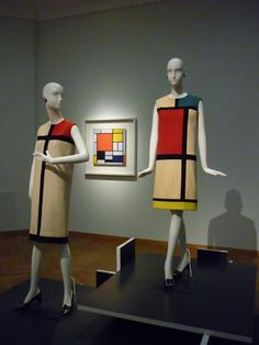 Yves Saint-Lauren, Mondriaan Collectie