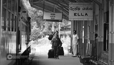 an adventurous traveller gets off at the Ella station after an eventful journey train rides in the hill country in Sri Lanka is an unbelievable experience. sectors such as Colombo - Kandy - Gampola - Nanu Oya - Ella - Demodara - Badulla are some of the most popular for all tourists