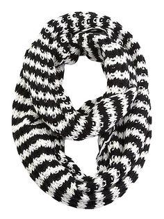 dots: Striped Loop Scarf