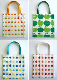 Molly's Sketchbook: The Twenty Minute Tote - The Purl Bee - Knitting Crochet Se. Molly's Sketchbook: The Twenty Minute Tote - The Purl Bee - Knitting Crochet Sewing Embroidery Crafts Patterns and Ideas! Purl Bee, Easy Sewing Projects, Sewing Hacks, Sewing Tutorials, Sewing Crafts, Sewing Tips, Simple Projects, Diy Projects, Free Tutorials