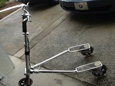 Two trek 3- wheeled pedal scooters for $25 in Bergalerg's Garage Sale in Saint augustine , FL for .