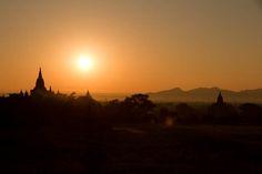 Sunset in Bagan | Le Big Trip