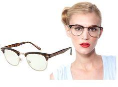 Glasses!! Cause I'm optician and I like it!! Theses looks amazing!