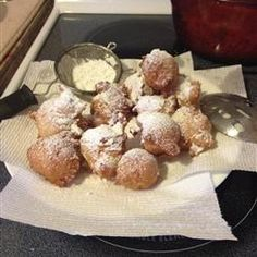 Known As Little Italian Doughnuts Zeppole Is Fried Cookies Made With Ricotta Cheese