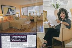 2011.06.06 pictures of Joan with Percy were published in Hello! She is photographed in the New York apartment she says she can no longer afford.14-15