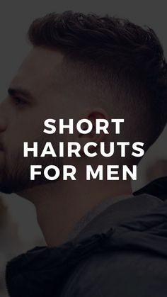 If you need practical and low maintenance hairstyles, short haircuts for men are the best cuts you should choose. Stylish Short Haircuts, Great Haircuts, Best Short Haircuts, Haircuts For Men, Mens Hairstyles Fade, Men's Hairstyles, Short Comb Over, Short Hair Cuts, Short Hair Styles