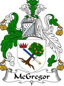 The Crest of the Chief of of the Clan Gregor (MacGregor)