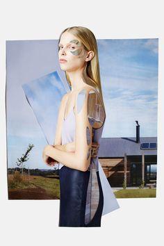 Collages: Meriç Canatan.Stylist: Esra Dandin.Photographer: Osman Özel.Model: Lina @ Option Model Management.Hair: Murat Bulut.Make up: Murat Bekler.