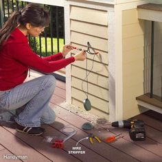 No Electrical Experience Necessary - Since most outdoor lighting is low voltage, it's safe and easy enough for any DIYer to install. In fact, the only special tool you'll need is a wire stripper.