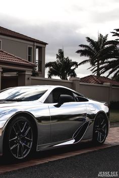 Chrome Lexus LFA lexusofkendall.com